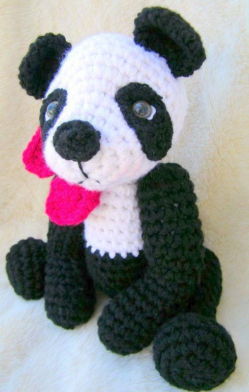 Amigurumi Pattern, Amigurumi panda pattern, Cute panda pattern ...   800x508