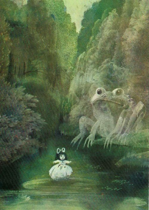 Hans Christian Andersen, Baśnie. Warszawa, Polska, 1985. Illustrations by Janusz Stanny.