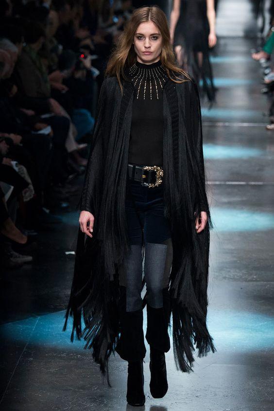 #fashion editorials, shows, campaigns & more!: roberto #cavalli #fw 2015.16 #milan #couture #runway