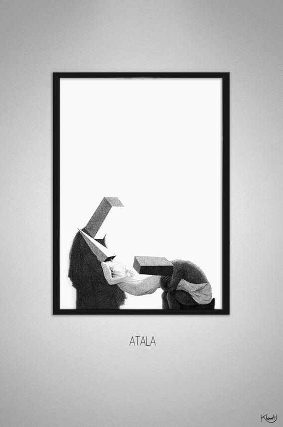 Atala - klemt. Artists on tumblr
