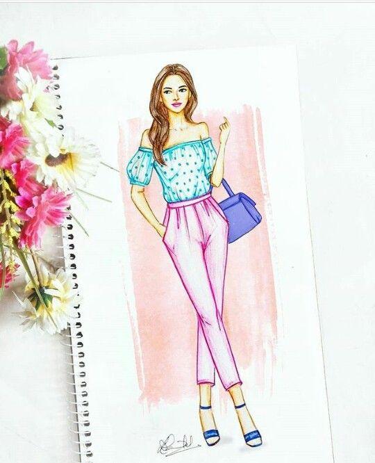 Pin By Liyarose On Fashion Illustrations Fashion Illustration Sketches Dresses Fashion Illustration Dresses Fashion Design Sketchbook
