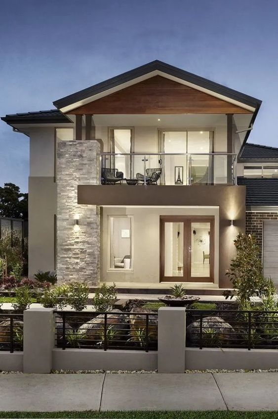 26 Gorgeous Dream House Exterior Ideas To Inspire In 2020 Contemporary House Exterior Philippines House Design Facade House