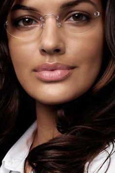 invisible glasses frames with without google search - Womens Designer Eyeglass Frames