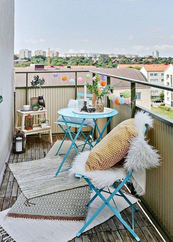 De la couleur pour mon balcon - Marie Claire Maison