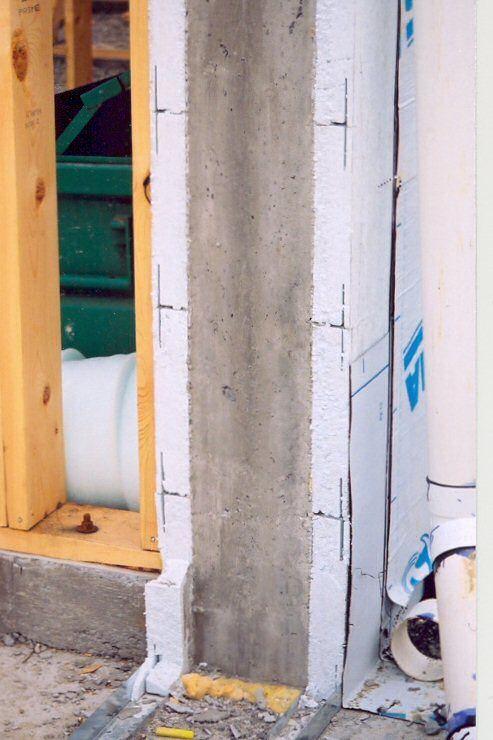 Insulated Concrete Walls Quad Lock Concrete Forms Insulated Concrete Forms Concrete