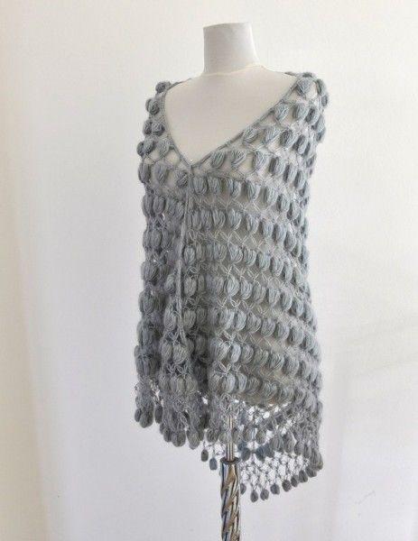 Örgü şal modelleri - Moda Tasarım - Elizim