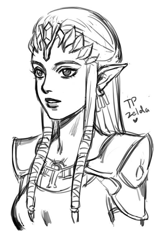Princess Zelda Drawing : princess, zelda, drawing, Rkgk(2)/Mellalyss, [pixiv]Twilight, Princess, Tokyo, Ghoul, Fullmetal, Alchemist, Brotherhood, Legend, Zeld…, Zelda,, Zelda, Twilight