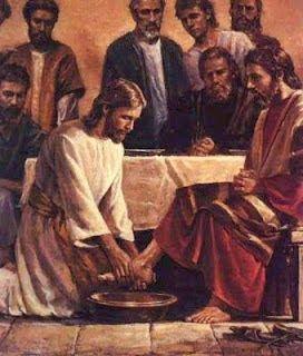 Fraternidade Evangélica  O CAMINHO:  Quando terminou de lavar-lhe os pés, Jesus tornou...