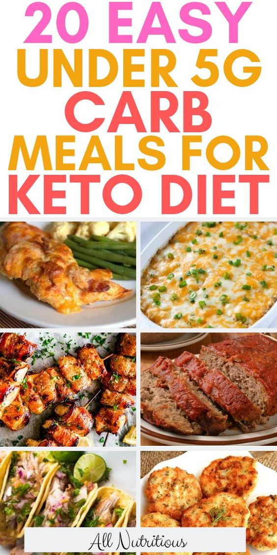 20 Tasty Ketogenic Under 5g Carb Meals - All Nutritious
