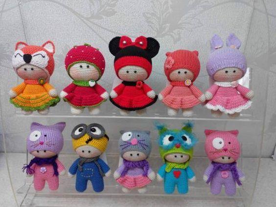 Amigurumi Angel Crochet Pattern : Amiche di Amigurumi e non solo...: BAMBINO YO-YO ...