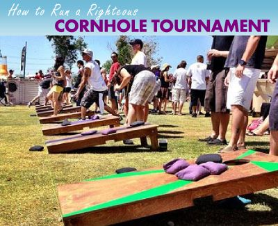 Cornhole is the most awesome way to raise money for your charity or organization. We'll explain the best way to run a cornhole tournament.