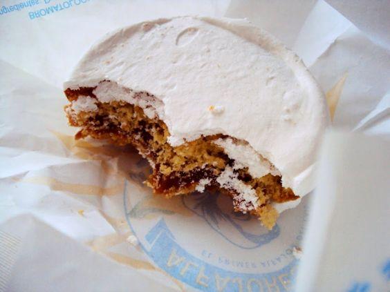 Alfajor (Montevideo, Uruguay)  Probably my favorite dessert of all time, I misss Dominican food :(