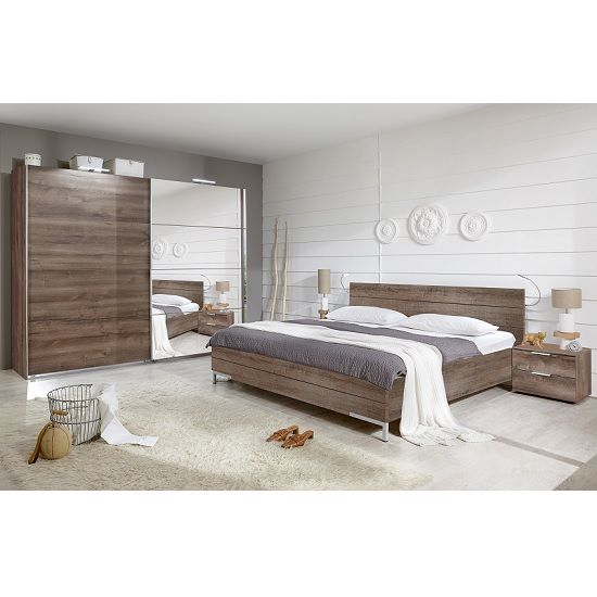 Mantova Mirrored Sliding Wardrobe In Muddy Oak Effect Furniture In Fashion Wardrobe Design Bedroom Country Bedroom Design Beautiful Bedrooms