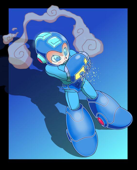 Megaman by GamerToon.deviantart.com on @DeviantArt