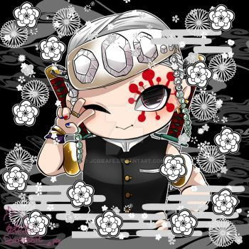 Kimetsu No Yaiba Chibi Uzui Tengen By Jcgieafe Chibi Anime Slayer Anime But what will happen when uzui catches feelings for rengoku, a man obsessed with sweet it's uzui tengen's special day. kimetsu no yaiba chibi uzui tengen by