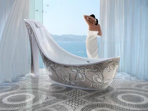 MY DREAM TUB!!!!: Shoe Bathtub, Bathtub Shoes, Unique Bathtubs, Beautiful Bathroom, Bathrooms Ideas, Creative Bathtubs, Dream Bathroom
