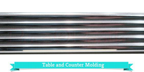 Countertop Edge Banding Metal : ... metal molding moldings edging metal metal edge kitchens metal retro