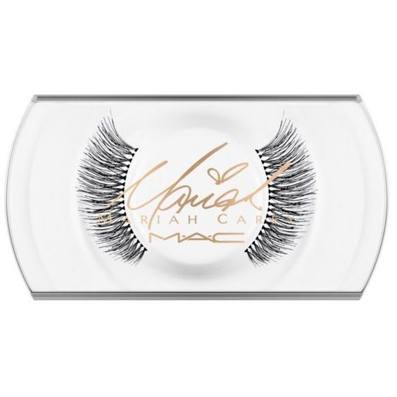 Mac Dont Shame Me Mariah Carey Eye Lashes ($18) ❤ liked on Polyvore featuring beauty products, makeup, eye makeup, false eyelashes and mac cosmetics