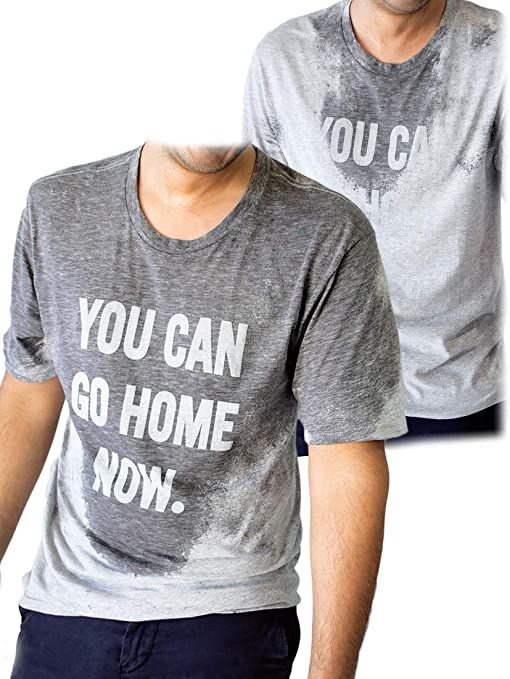 Amazon.com: LeRage You Can Go Home Now Hidden Message Gym Gift Shirt or Funny Workout Gift Tee: Clothing