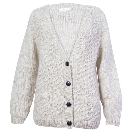 Cream chunky cardigan- this one is from Bibico, but could find at a charity shop