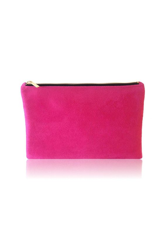 This Top Zippered Pink Pouch Is Truly Eye Catching And The Perfect Addition To Upper West Sidemanhattan