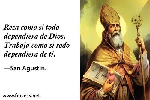 Las Mejores Frases De San Agustín Frases De San Agustín
