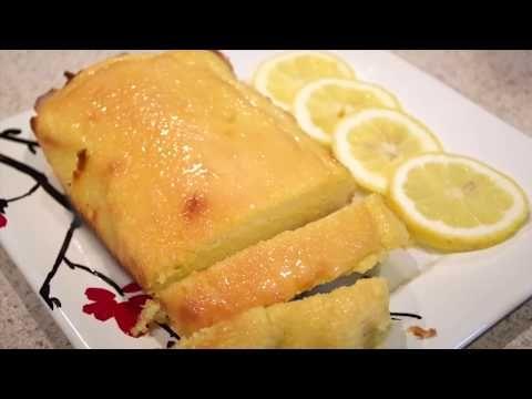 كيك ليمون كيتو مع صوص حلويات كيتو Glazed Keto Lemon Cake Youtube Keto Recipes Food Recipes