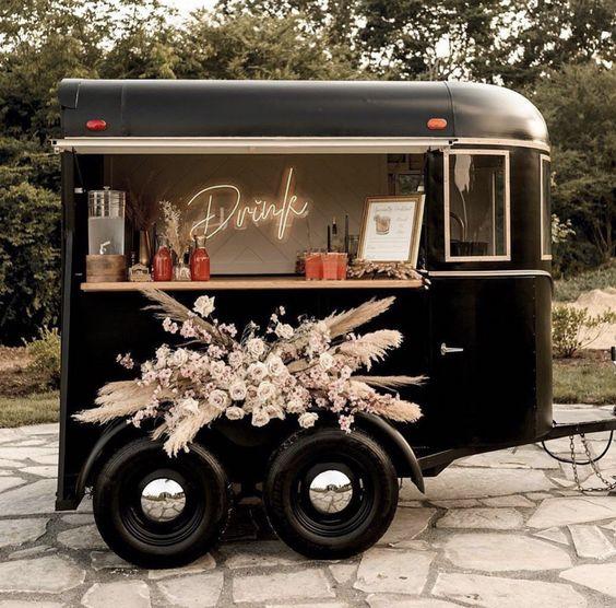 Offbeat Black Color Wedding Theme Ideas For Your Winter Wedding!!!, ab43dbb4859aba48ceacc7c6651227a0