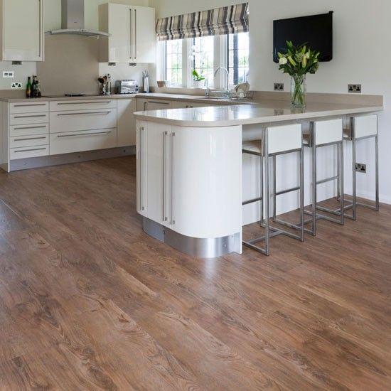 Small Kitchen Wood Floor: Vinyls, Flooring Ideas And Galleries On Pinterest