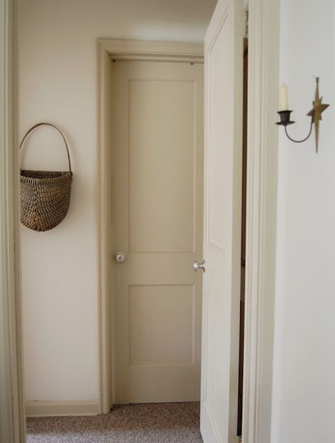 one of my favorite paint colors on all of the doors and trim -  Buttermilk  from Olde Century Colors | OUR HOME | Pinterest | Doors Colonial and House & one of my favorite paint colors on all of the doors and trim ... pezcame.com