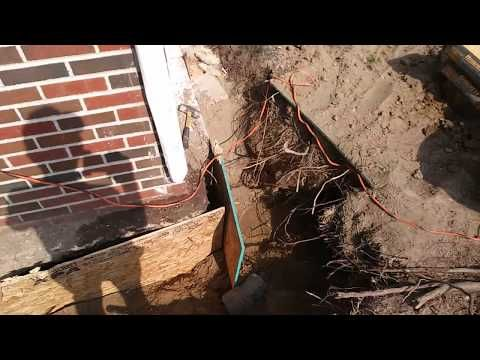 Youtube Footing And Foundation Repairs How To Underpin An Existing Shallow Footing Where No Foundation Was Installed Diy Foundation Foundation Repair Diy Help