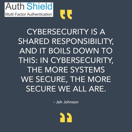 cyber #quote for the day!! Information Security Authentication - software quote