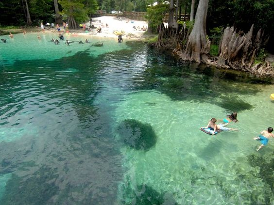 Lithia Springs Park Florida Camping Springs Ap Photo