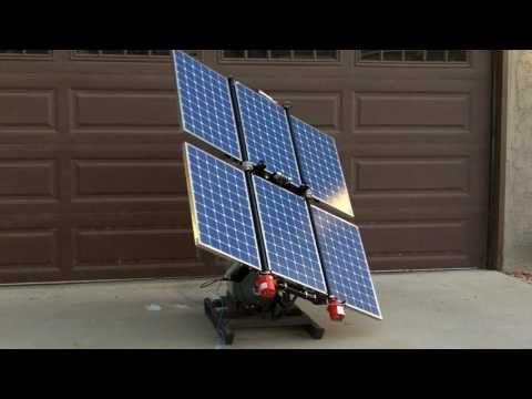 Meridian Folding Solar Panel Array Portable Solar System Youtube In 2020 Solar Panels Solar Solar Power System