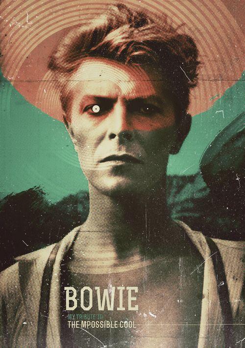 David Bowie. Artwork by Shane Small