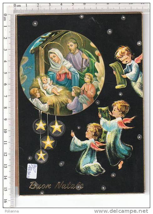 PO4330A# Illustrata Buon Natale - CORO ANGELI - PRESEPE - SACRA