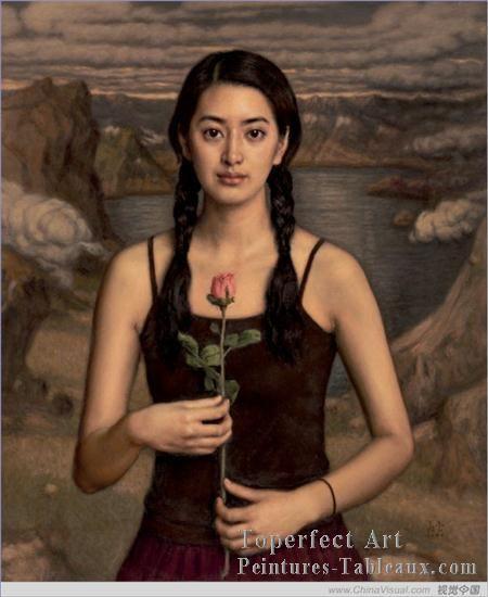 Chen Yifei | ... chinoises>Chen Yifei>4zg053cD145 peintres chinoises Chen Yifei