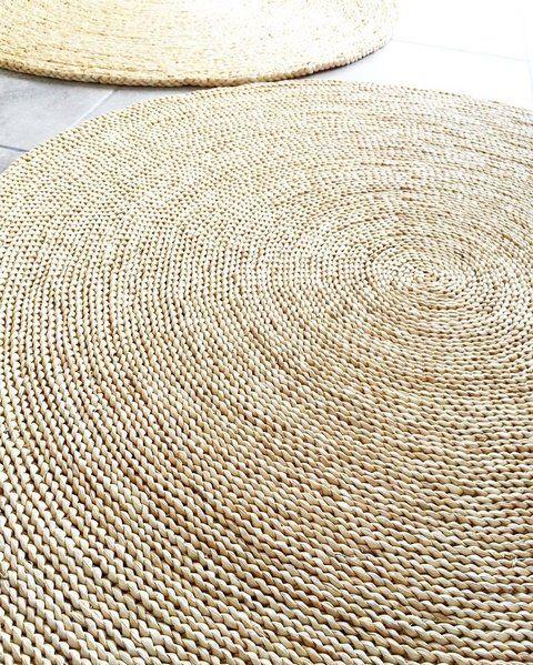Alfombra yute espiral crochet pinterest - Fotos interieurdecoratie ...