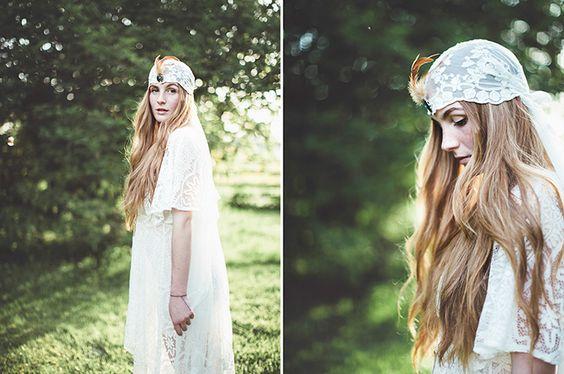 Inspiration Hippie Braut | Friedatheres.com  Fotos: Nice 4 Your Eyes  Kleid: H&M  Schmuck: Schmuck Bosch