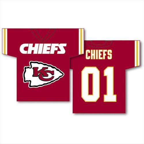 Kansas City Chiefs NFL Jersey Banner
