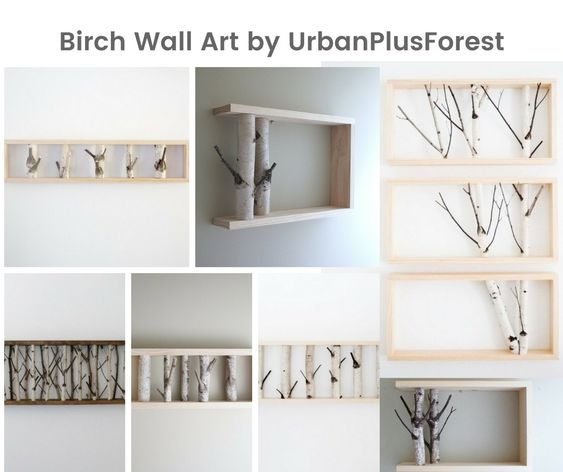 Birch Wall Art by UrbanPlusForest