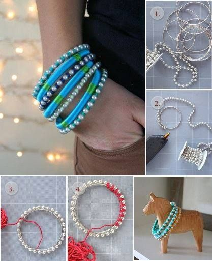 how to make easy bracelets at home