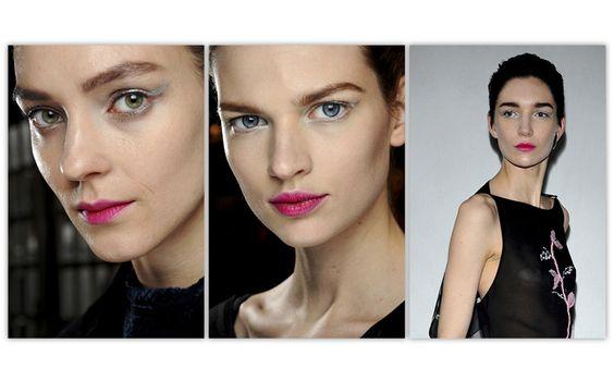 make-up Dior collection automne-hiver 2013-2014 http://www.vogue.fr/beaute/tendance-des-podiums/diaporama/la-fashion-week-en-20-make-up/12197/image/735910