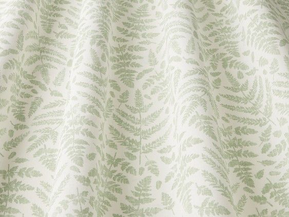 Fernshore Mint Fabric In 2020 Custom Made Curtains How To Make Curtains Printing On Fabric