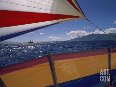 Sailing Detail Photographic Print at Art.com