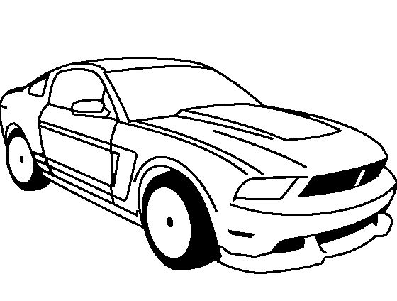 ford boss 302 mustang 1969 coloring pages