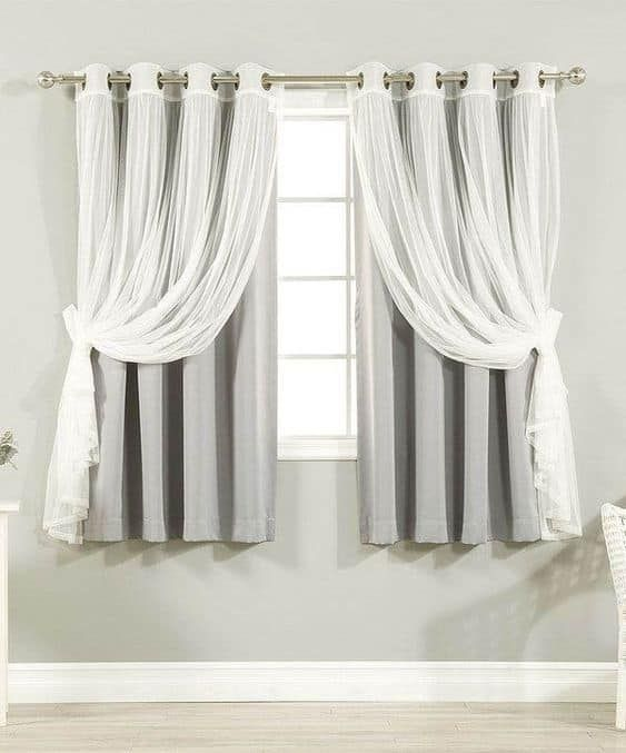 17 Amazing And Unique Curtain Ideas For Large Windows In 2020