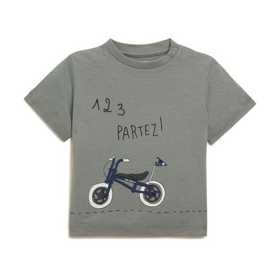 T-shirt imprimé vélo VERT Bout'Chou – Monoprix.fr