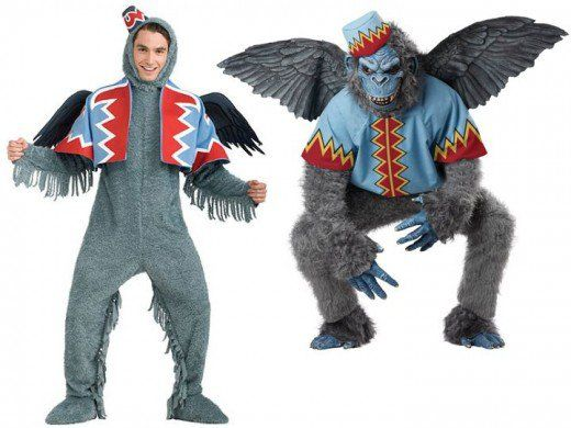 men flying monkey costumes from the wizard of oz costumes pinterest flying monkey costume monkey costumes and costumes - Halloween Monkey Costumes