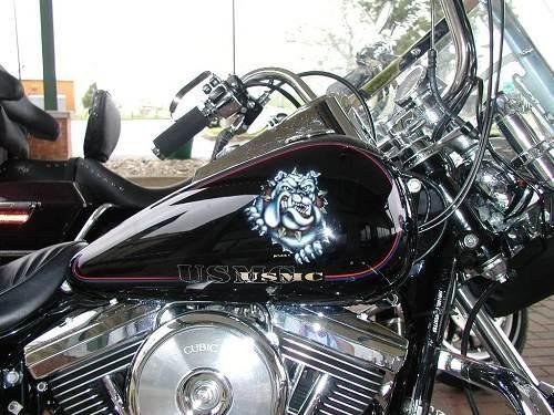 Sick Custom Dyna Wide Glide: 1996 Harley-Davidson® FXDWG